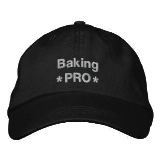 Baking Pro Embroidered Baseball Hat