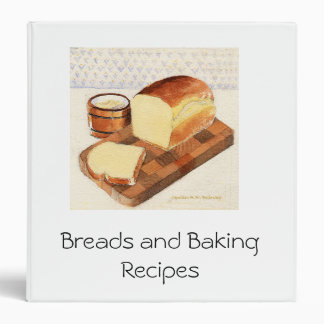 Baking Recipes Binder