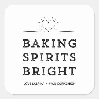 Baking Spirits Bright Cookie Exchange Stickers