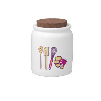 Baking Supplies Candy Jar