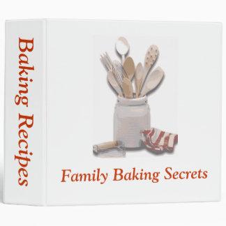 Baking Tools 3 Ring Binder