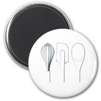 Baking Utensils 2 Inch Round Magnet