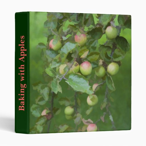 Baking with Apples Orchard Cookbook Binder
