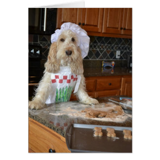 Baking with Emma the GBGV Greeting Card
