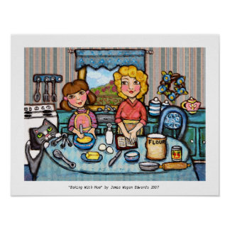 Baking With Mom Poster