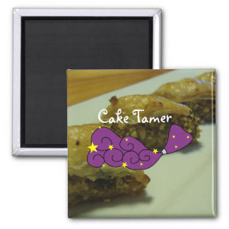 Baklava and Cake Tamer Magnet