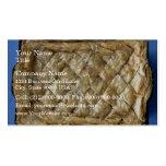 Baklava, una clase de pasteles plantilla de tarjeta de negocio