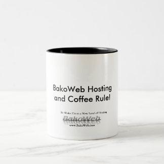 BakoWeb Hostingand Coffee Rule! Mug