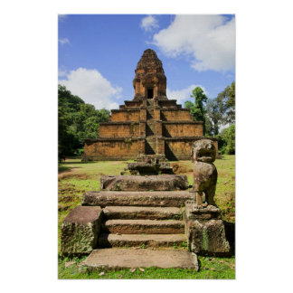 Baksei Chamkrong Pyramid Temple in Cambodia Posters