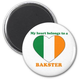 Bakster 2 Inch Round Magnet