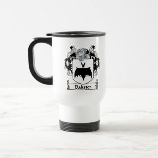 Bakster Family Crest 15 Oz Stainless Steel Travel Mug