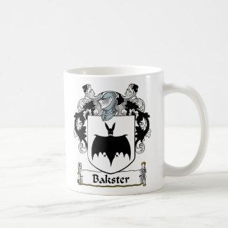 Bakster Family Crest Classic White Coffee Mug