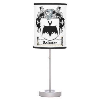 Bakster Family Crest Desk Lamps
