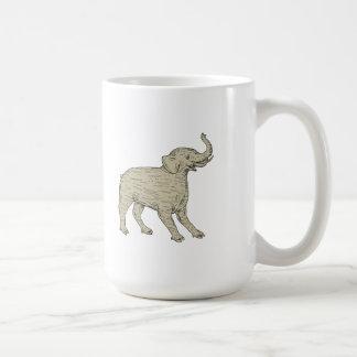 Baku Side Drawing Coffee Mug