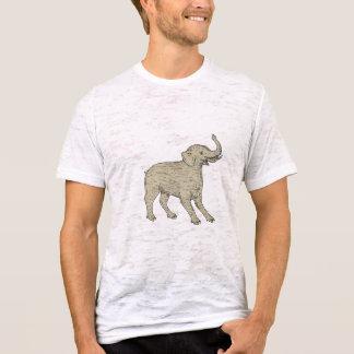 Baku Side Drawing T-Shirt