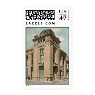 Baku vieja - banco 1905 sello postal