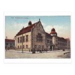 Baku vieja - Kommercheskoye Uchilishe - Pedinstitu Tarjetas Postales