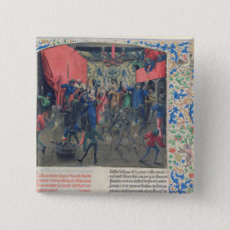 Bal des Ardents', Charles being saved Button
