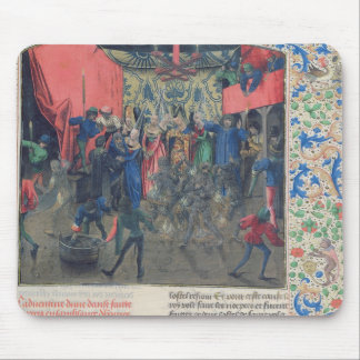 Bal des Ardents', Charles being saved Mouse Pad