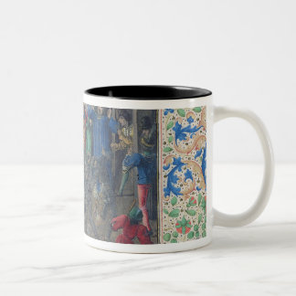 Bal des Ardents', Charles being saved Two-Tone Coffee Mug
