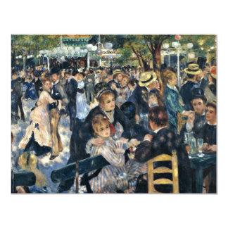 Bal Du Moulin De La Galette By Pierre-Auguste Reno Personalized Invite