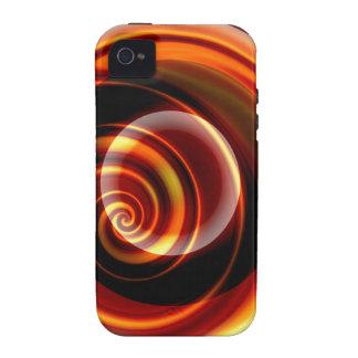 Bala abstracta iPhone 4 fundas