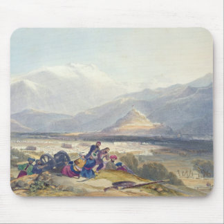 Bala Hissar and City of Kabul with the British Can Mouse Pad