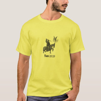 Balaam's Donkey with text T-Shirt