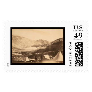 Balaclava Harbor from Guards Hill 1855 Postage Stamps