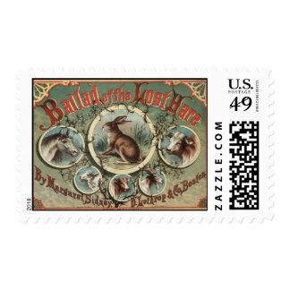 Balada de las liebres perdidas timbres postales
