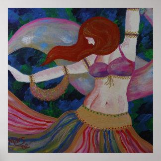 Baladi, impresión hermosa del poster del arte de l