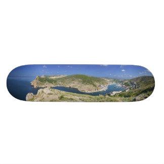 Balaklava Bay Crimea Ukraine Panorama Skateboard
