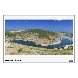 Balaklava Bay Crimea Ukraine Panorama Wall Sticker