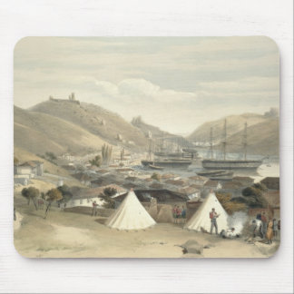 Balaklava, Looking Towards the Sea, plate from 'Th Mouse Pad