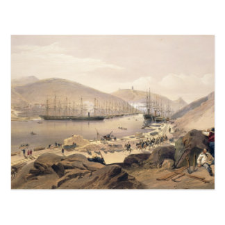 Balaklava, plate from 'The Seat of War in the East Postcard