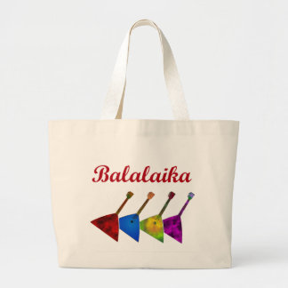 Balalaika Large Tote Bag