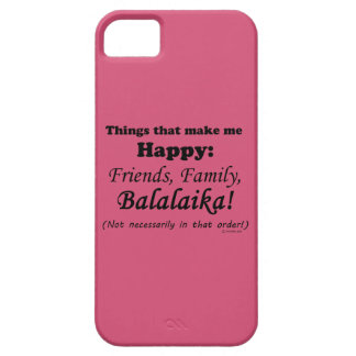 Balalaika Makes Me Happy iPhone SE/5/5s Case