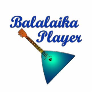 Balalaika Player Statuette