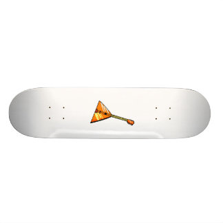 Balalaika stringed instrument graphic image skateboard