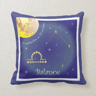 Balance 24 septembre outer 23 octobre cushions