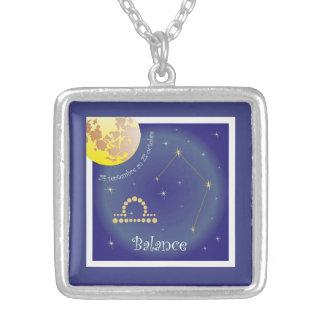 Balance 24 septembre outer 23 octobre necklace