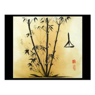 Balance Bamboo Postcard