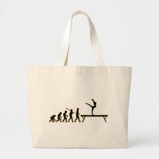 Balance Beam Tote Bags