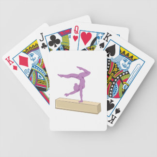 Balance Beam Bicycle Playing Cards