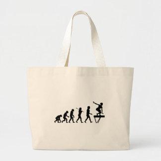 Balance Beam Evolution Fun Sports Tote Bags