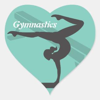 Balance Beam Gymnastics Sticker