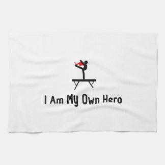 Balance Beam Hero Hand Towel