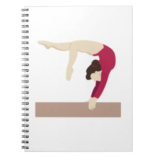 Balance Beam Spiral Notebooks