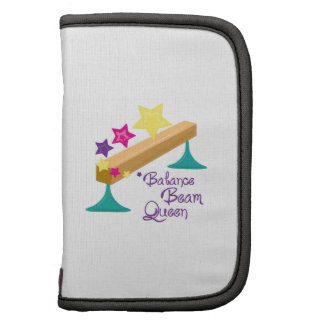 Balance Beam Queen Folio Planner