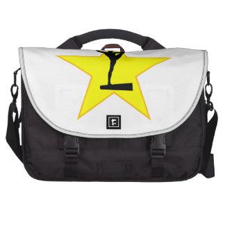 Balance Beam Silhouette Star Laptop Bag